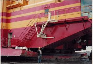 first-dragline-step-1980